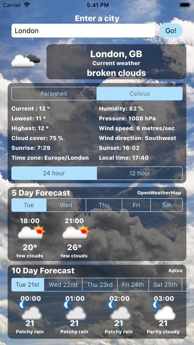 Weather Centre Day Forecast On The App Store - 10dayforecast