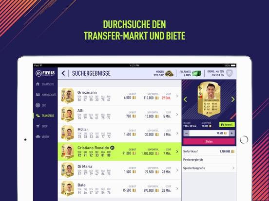 Screenshot 3 EA SPORTS™ FIFA 18 Companion