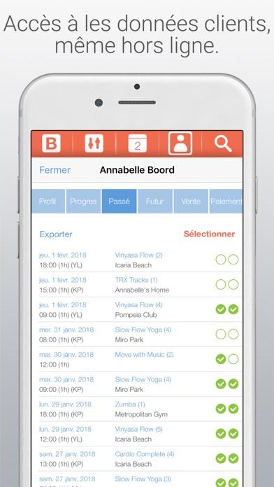 Bobclass logiciel de gestionCapture d'écran de 2