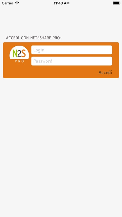 Screenshot of Net2Share Pro1