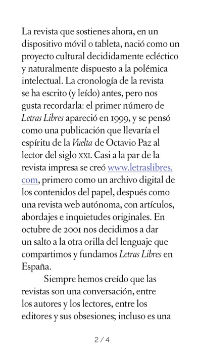 Letras Libres Mxico Espaa review screenshots