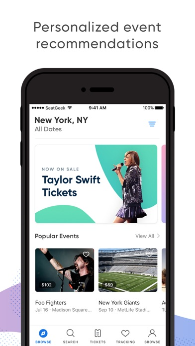 download SeatGeek - Buy Event Tickets apps 1