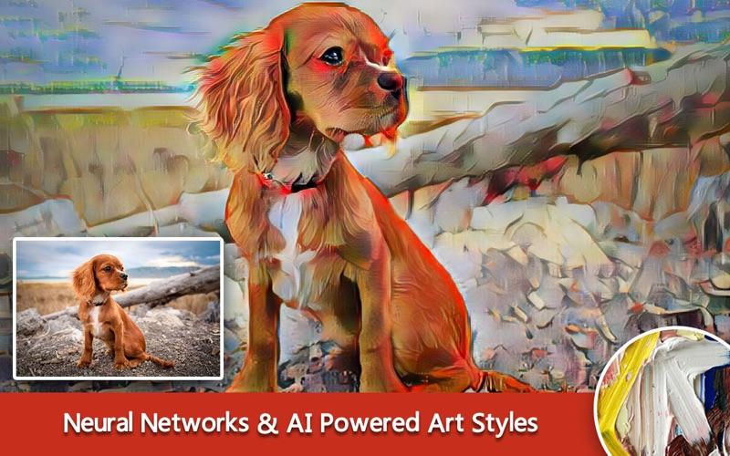 Any DeepStyle - Art Filters & AI Photo Editor 앱스토어 스크린샷