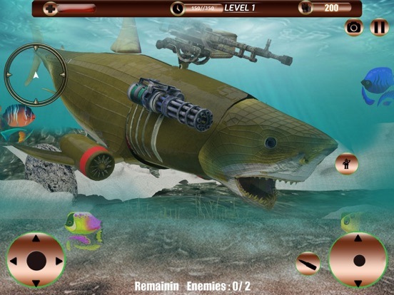Angry Robot Shark Simulator screenshot 7