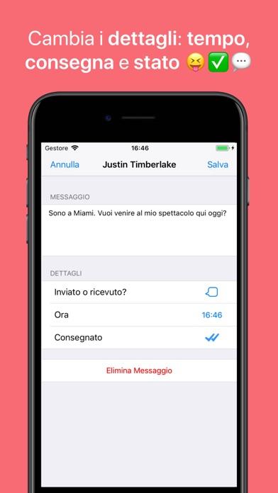 Screenshot of WhatsFake - Creare Falsi Chats4