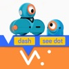 Blockly für Dash & Dot Roboter
