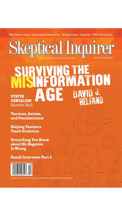 Skeptical Inquirer Magazine review screenshots
