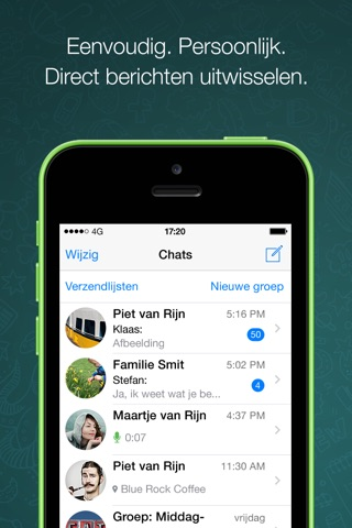 WhatsApp Messenger screenshot 1