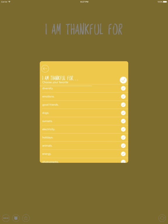 Screenshot #2 for Thankful for - Gratitude Diary