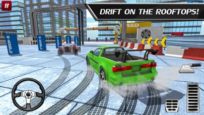 Car Drift Duels: Roof Racing Screenshot 2