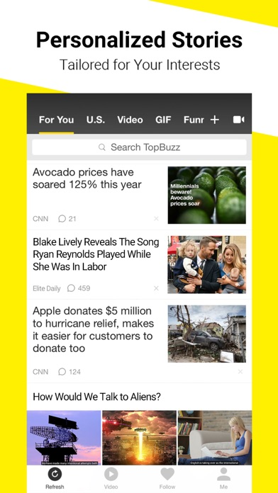 download TopBuzz: Viral Videos & News apps 4