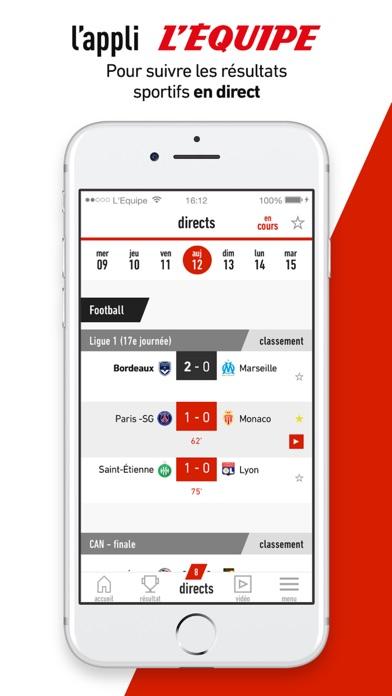 download L'EQUIPE, sports en direct apps 4
