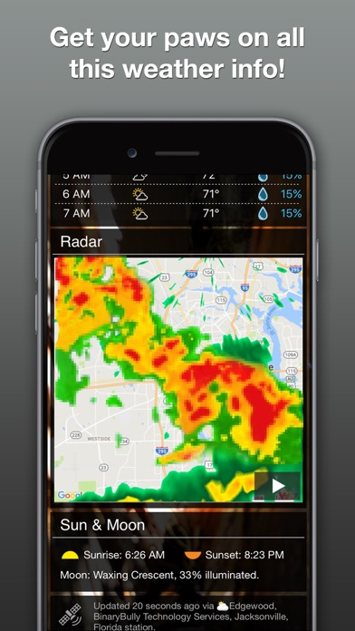 download Weather Puppy: Forecast + Dogs apps 1