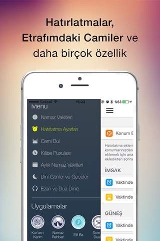 Namaz / Ezan Vakti screenshot 4