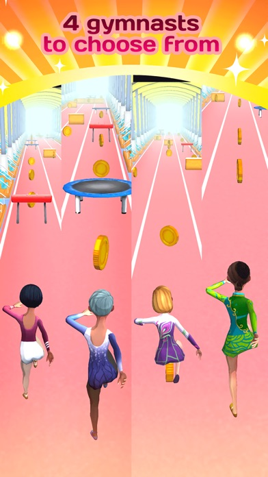 Screenshots of American Gymnastics Girly Girl Game - All Fun Little Teenage Kids Gym Games For Free for iPhone