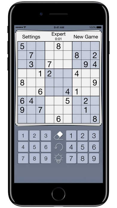 Premium Sudoku Cards screenshot 1