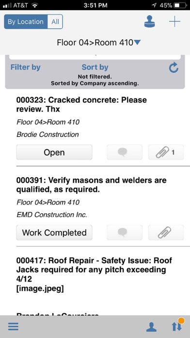 BIM 360 Field for iPhones screenshot 2
