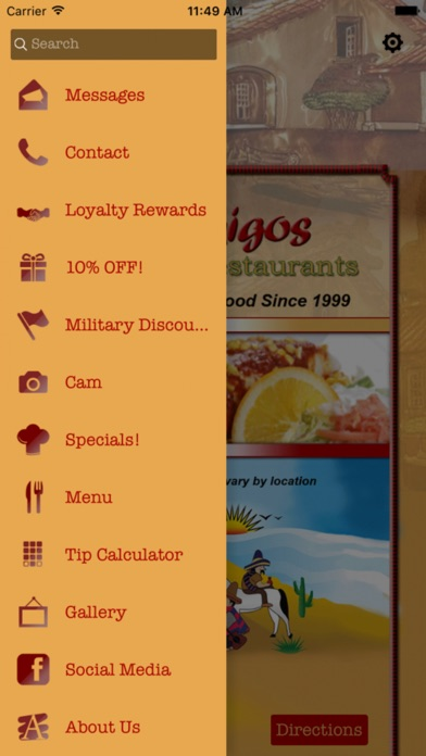download 3 Amigos Mexican Restaurants apps 0