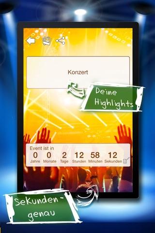 Big Days Countdown screenshot 2