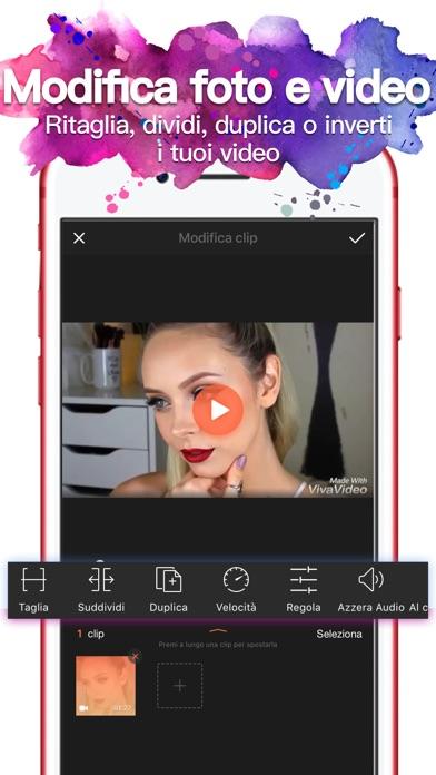 Screenshot of VivaVideo-Miglior Video Editor1