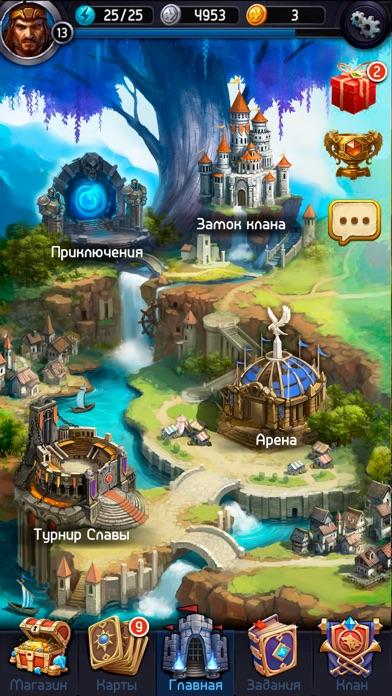 Скриншот Card Heroes