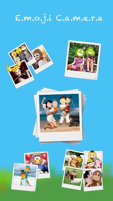 Screenshot #1 pour Emoji Camera - filtres uniques