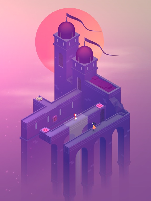 Screenshot #1 for Monument Valley 2