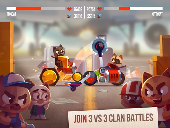 Screenshot #3 for CATS: Crash Arena Turbo Stars