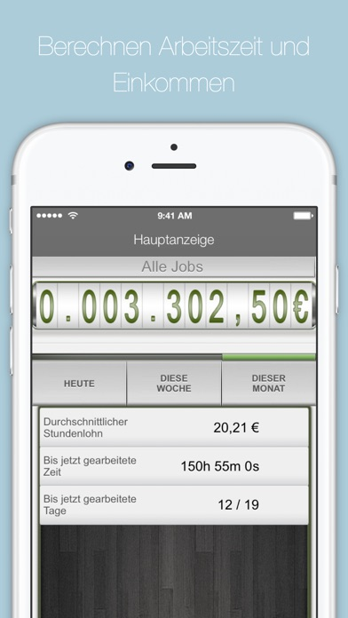 SalaryBook -  Zeiterfassung Screenshot