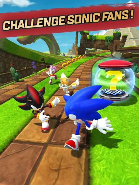 Sonic Forces: Speed Battle Screenshots