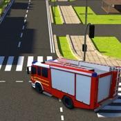 Feuerwehr-LKW-Simulator 2017