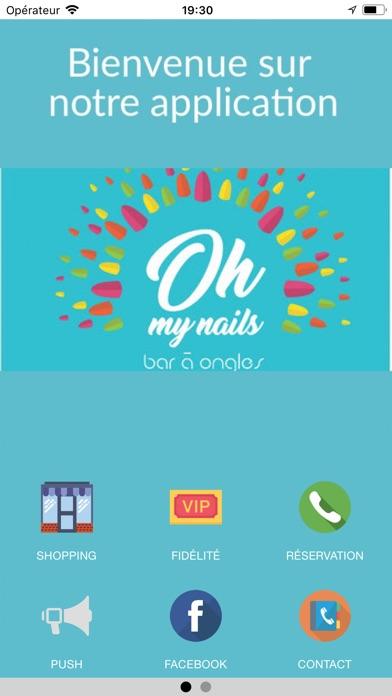 Oh my nailsCapture d'écran de 1