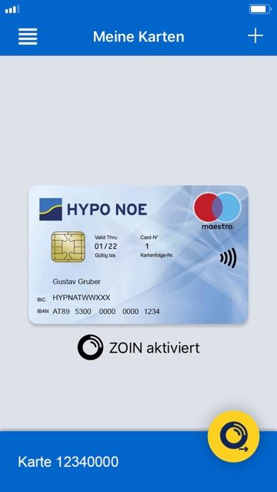 Screenshot von HYPO NOE PLUS App1