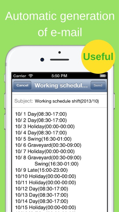 download Shift Planning Calendar Pro appstore review