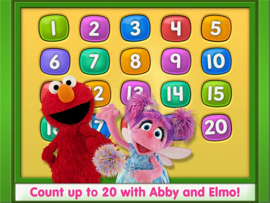 Elmo Loves 123s на iPad