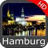 Marine Hamburg West Germany HD GPS Map Navigator