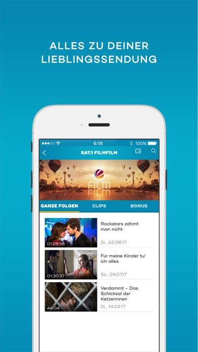 SAT.1 - Live TV und Mediathek Screenshot