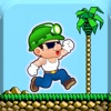 Platformer Run: classic games appear button finish