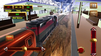 Реальный экспресс Driving Sim Скриншоты5