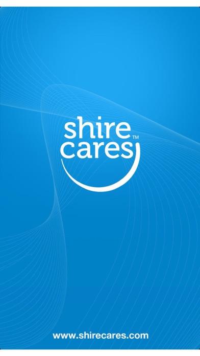 Shire Cares Mobile ApplicationScreenshot of 1