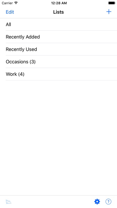 Email sms templates lite on the app store iphone screenshot 1 pronofoot35fo Images