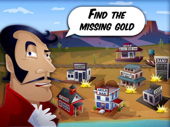 Mystery Word Town Spelling Screenshots