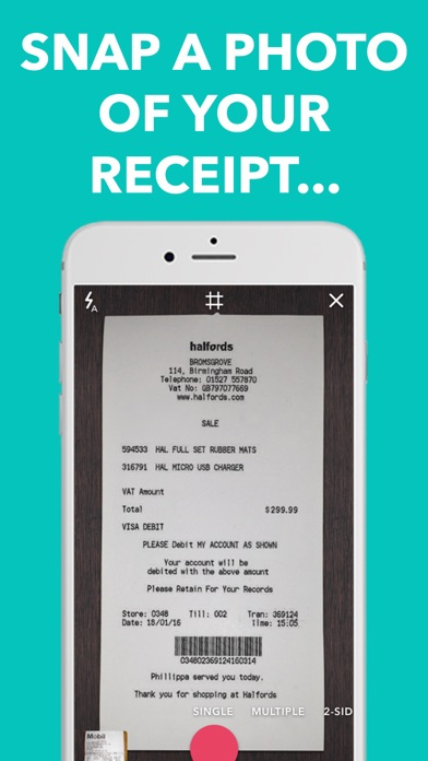download 1Tap Receipts: Track Expenses appstore review