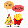 Pizza and French Fries Stickers Pack Wiki