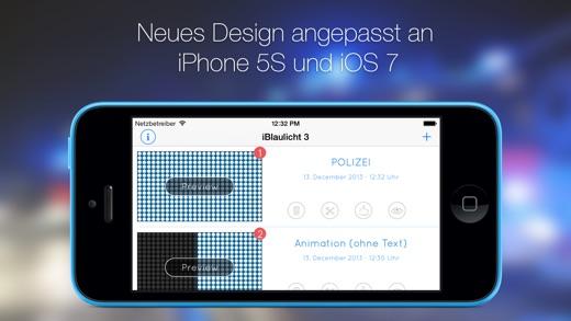 iBlaulicht 3 - Feuerwehr & Polizei Blaulicht Screenshot