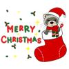 Hao Nguyen - Adorable Ferret Emoji Sticker  artwork