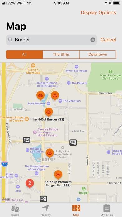 VegasMate Travel Guide Скриншоты6