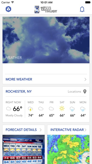 WROC Weather 8 RochesterFirstScreenshot of 1