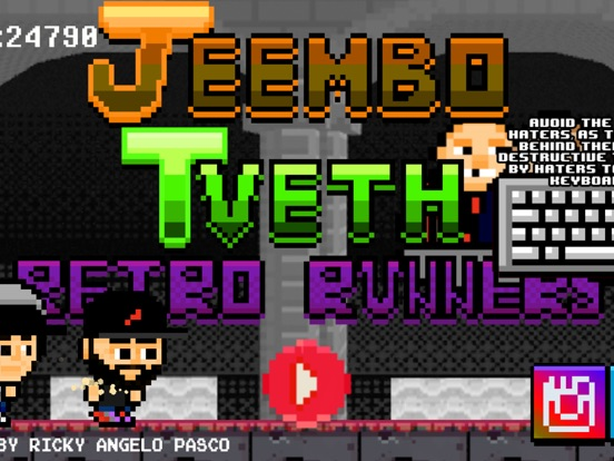 Jeembo Tveth Retro Runners на iPad