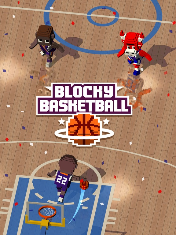 Blocky Basketball FreeStyle на iPad